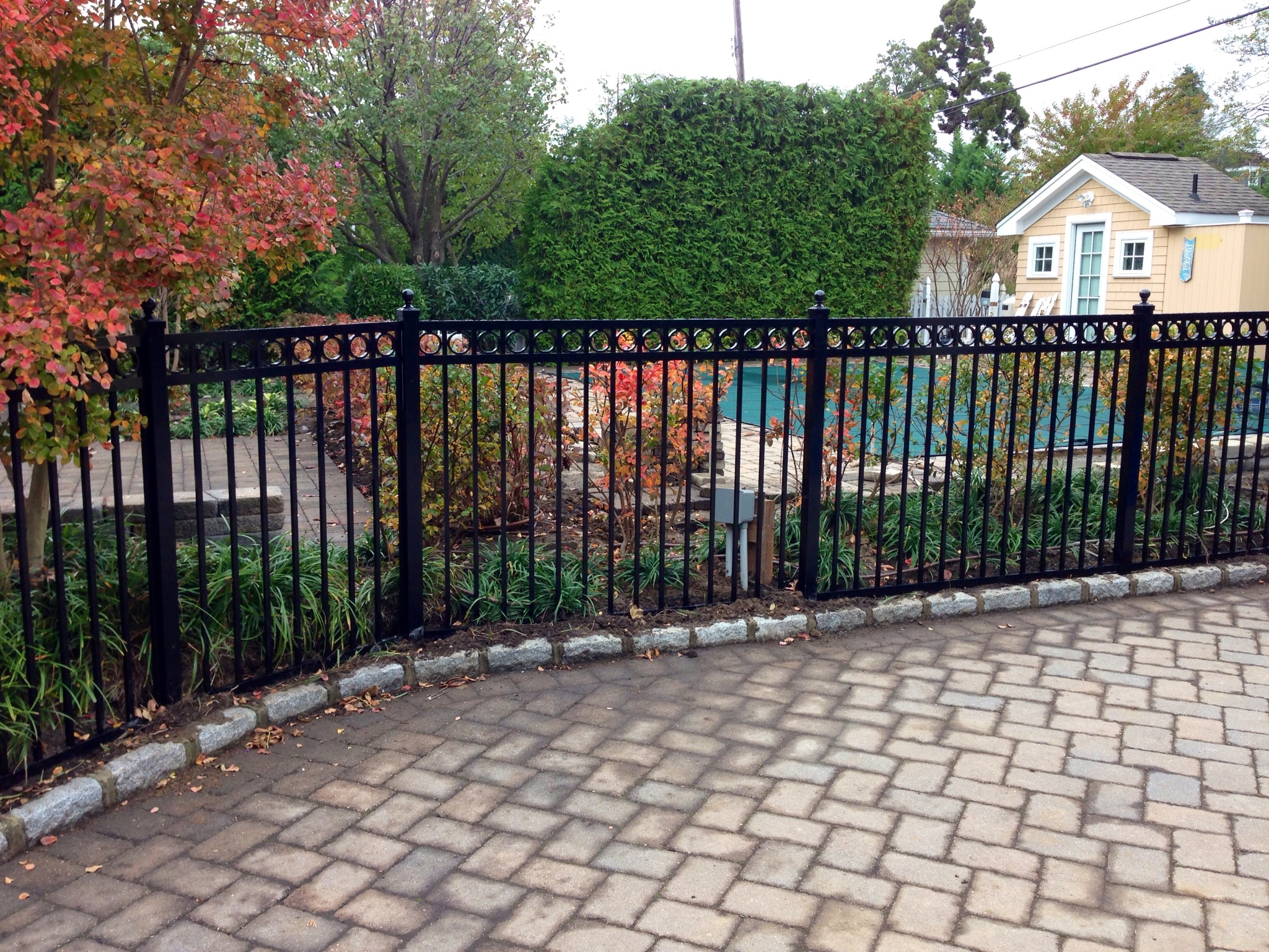 Ask Us About Materials Styles And Color Choices For Your Project To Aluminum Fence Needs We Can Also Install Custom Gates When Necessary